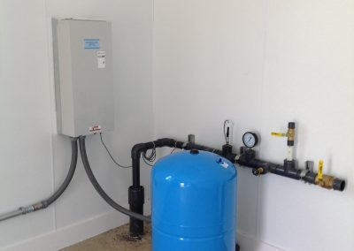 200 GPM pump system with Constant Pressure VFD for organic farm