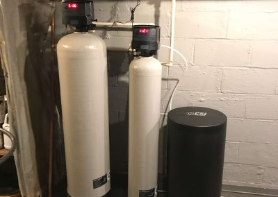 CSI Nitro filter and single tank water softener