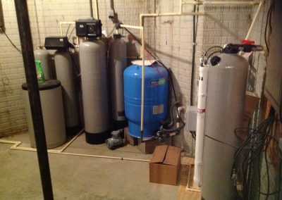 Pre filtration for whole house Reverse Osmosis
