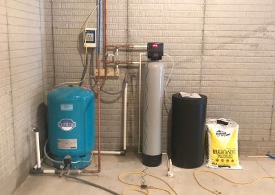 Pressure tank and CSI softener