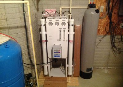 Whole house Reverse Osmosis system to remove salt
